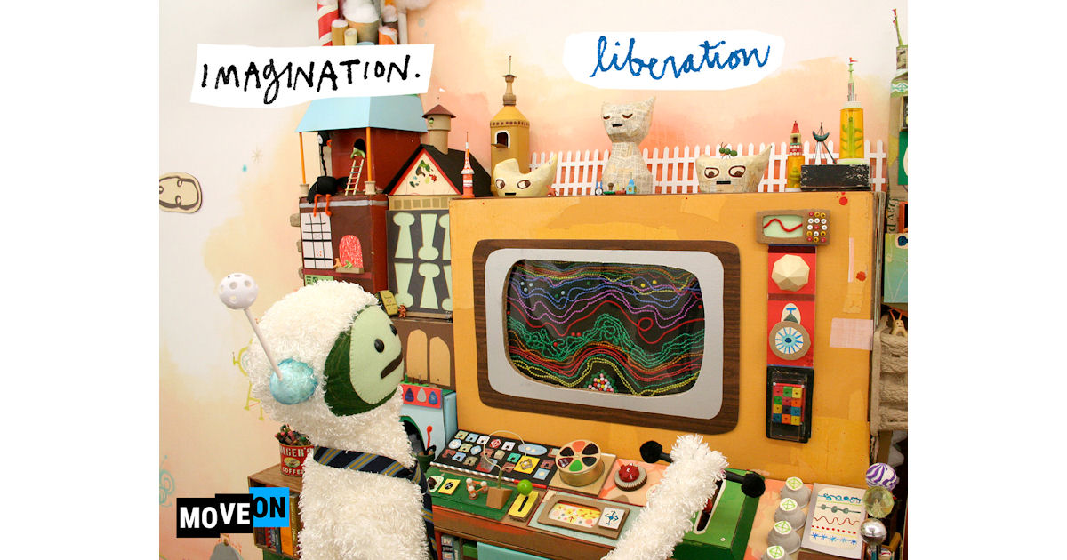 FREE Imagination Liberation Sticker