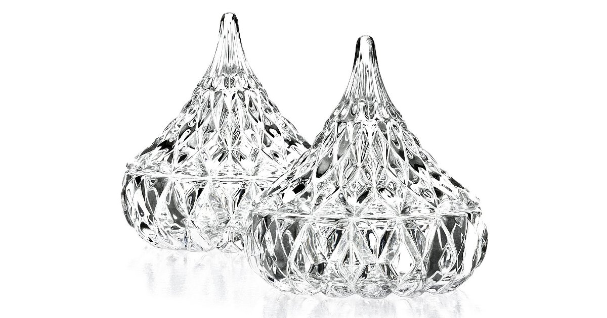 Crystal Hershey's Kiss Candy Dish ONLY $7.99 (Reg. $20)