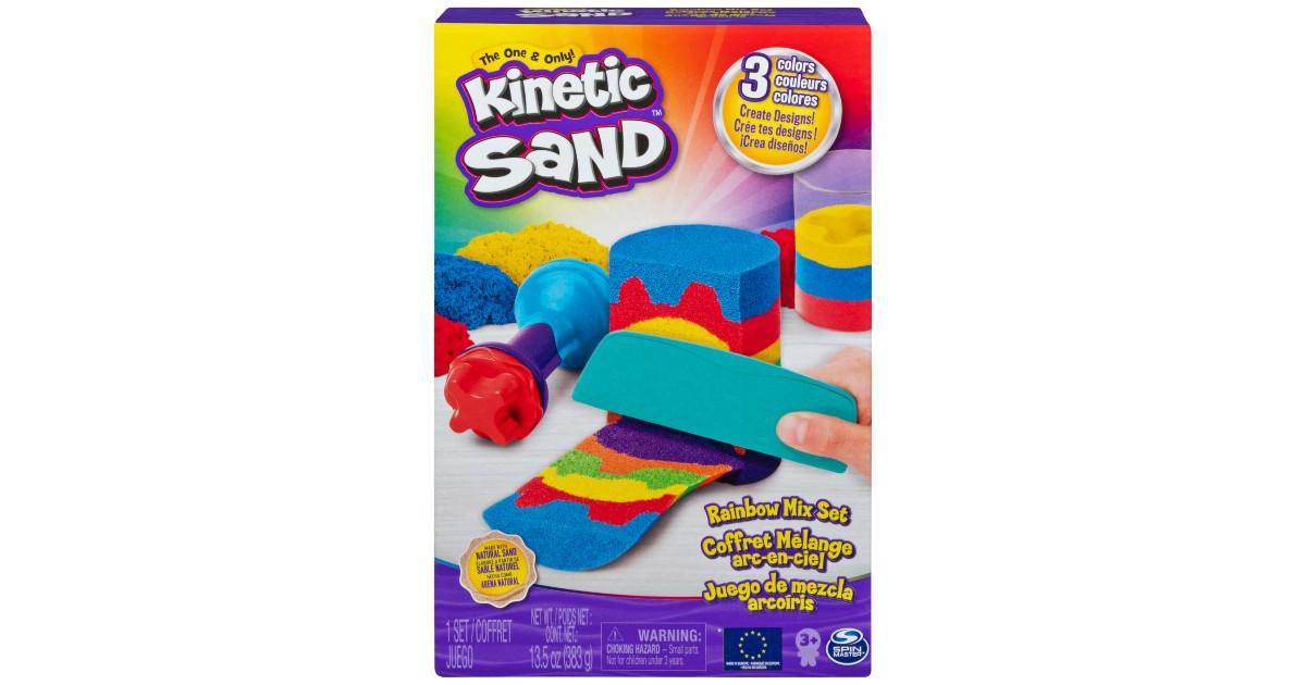 Kinetic Sand Rainbow Mix Set ONLY $5 (Reg $10)