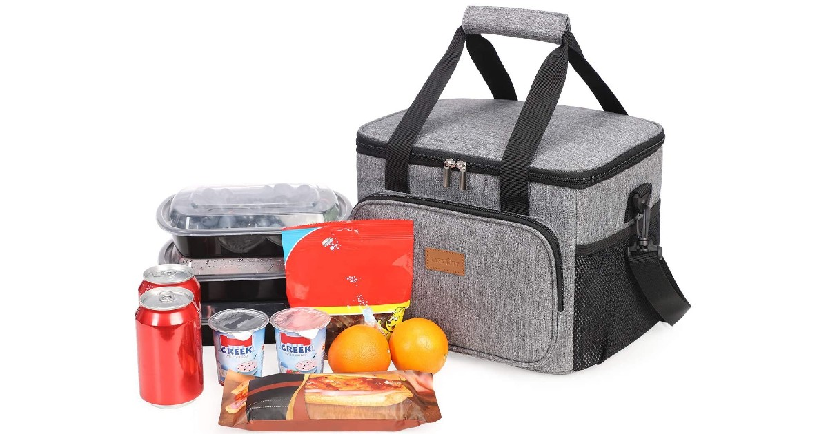 Large Insulated Lunch Bag ONLY $17.99 (Reg $40)
