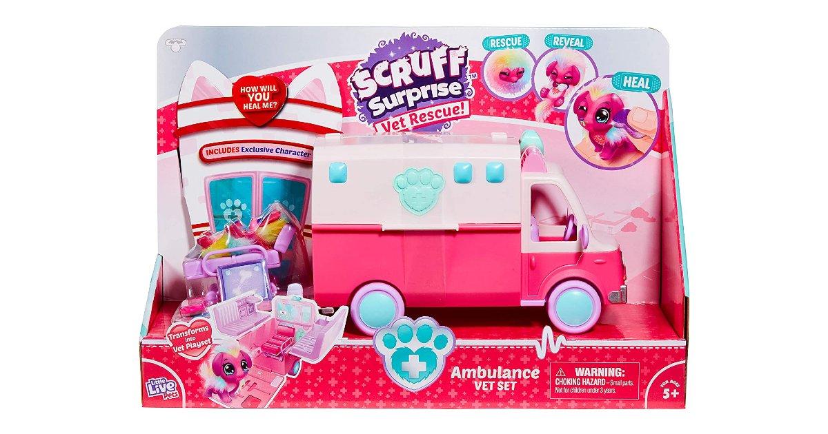 Little Live Pets Scruff-a-Luvs Vet Rescue $7.55 (Reg. $20)
