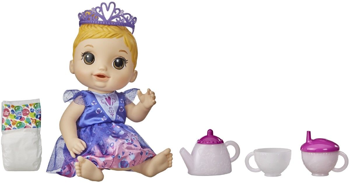 Baby Alive Tea n Sparkles Doll