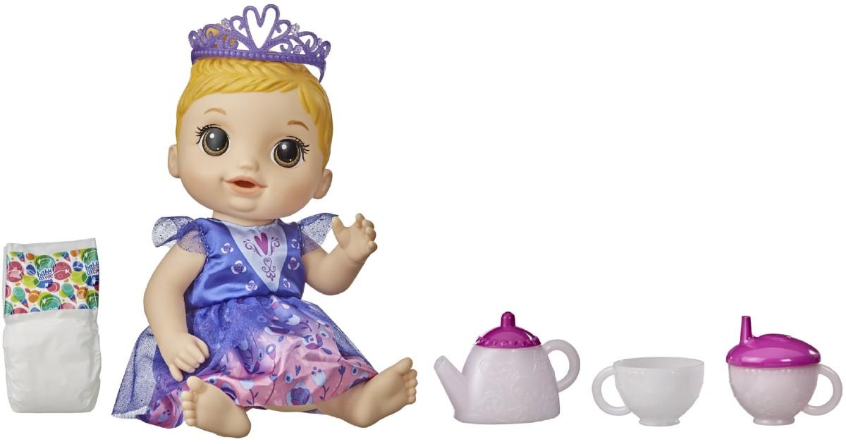 Baby Alive Tea n Sparkles Doll...