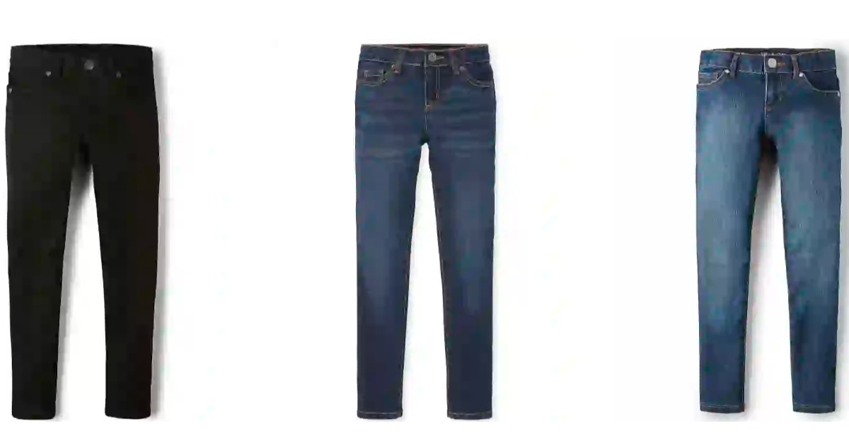 Basics Jeans at The Childrens.