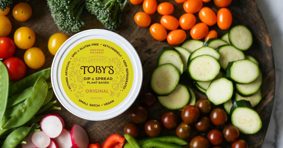 FREE Tobys Plant Based Dip and...