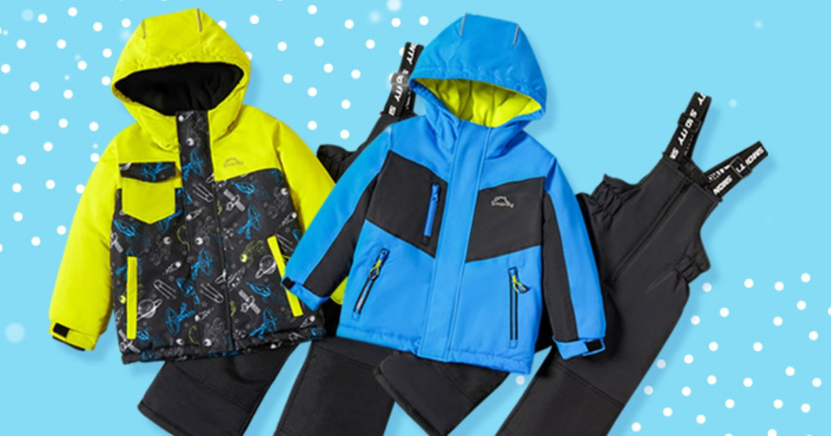 Snowsuit Hooded Jacket and Snow Bib ONLY $16.99 (Reg. $75)
