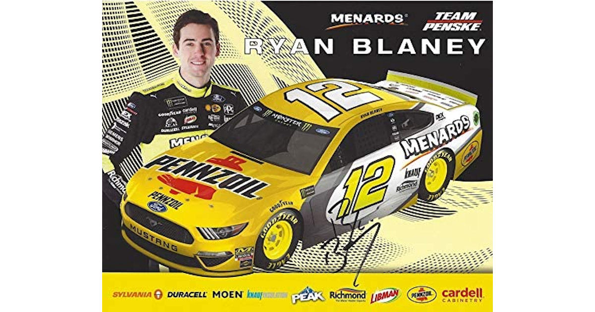 FREE Ryan Blaney Hero Card
