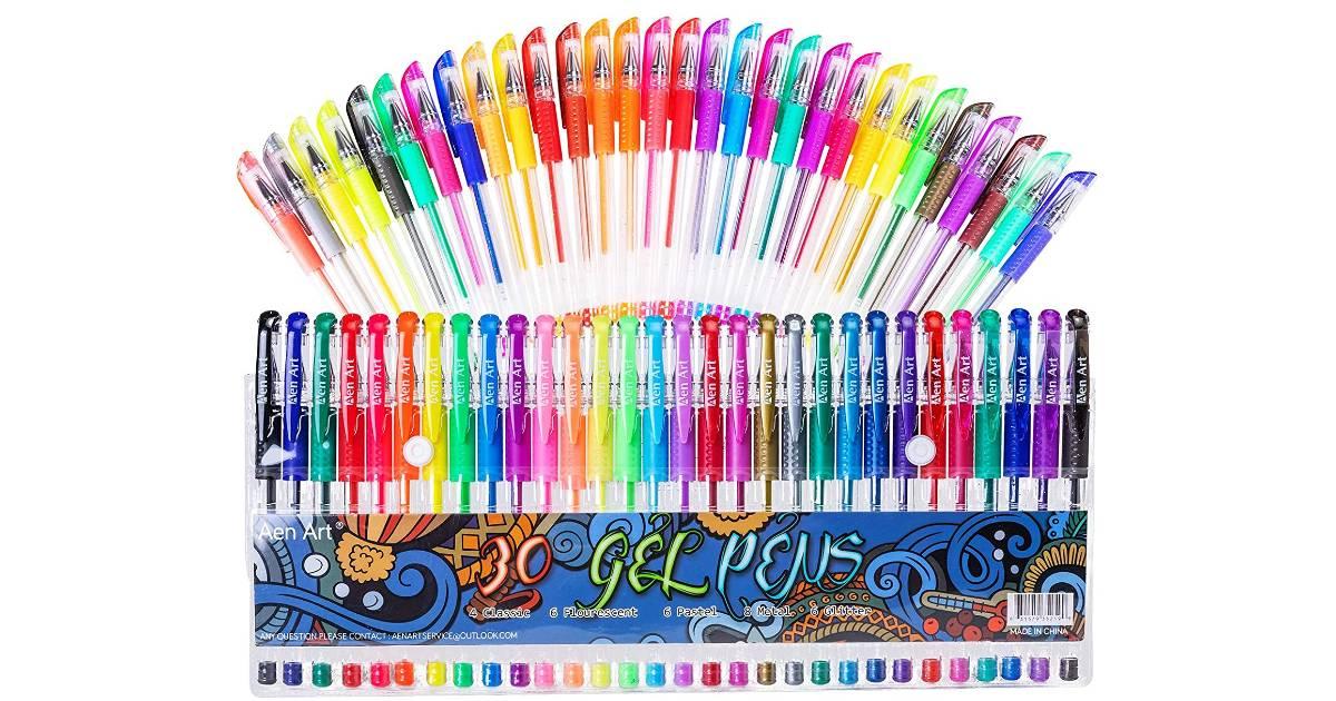 Gel Pens 30-Pack ONLY $7.64 (Reg. $16)