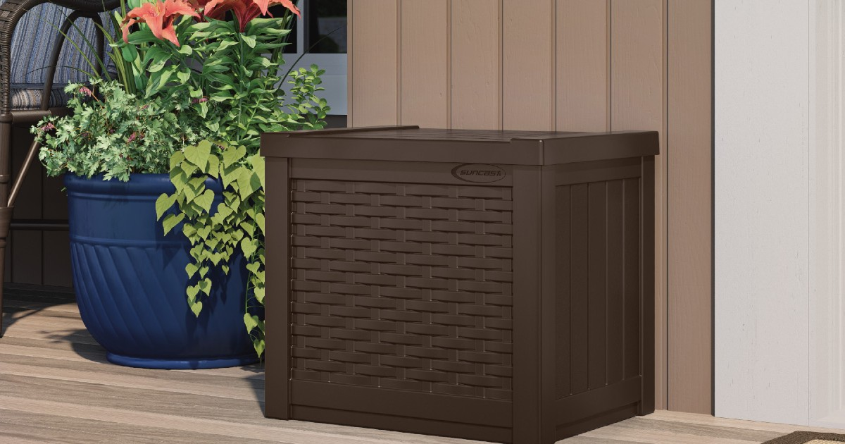 Deck Storage Box at Walmart