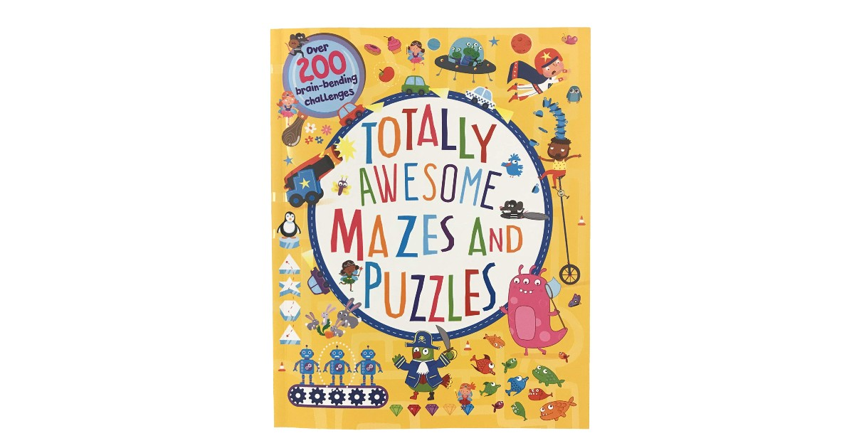 Totally Awesome Mazes and Puzzles ONLY $5.99 (Reg. $13)