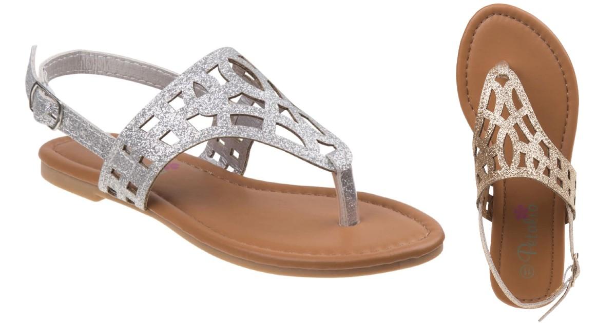 Petalia Girl's Summer Sandals