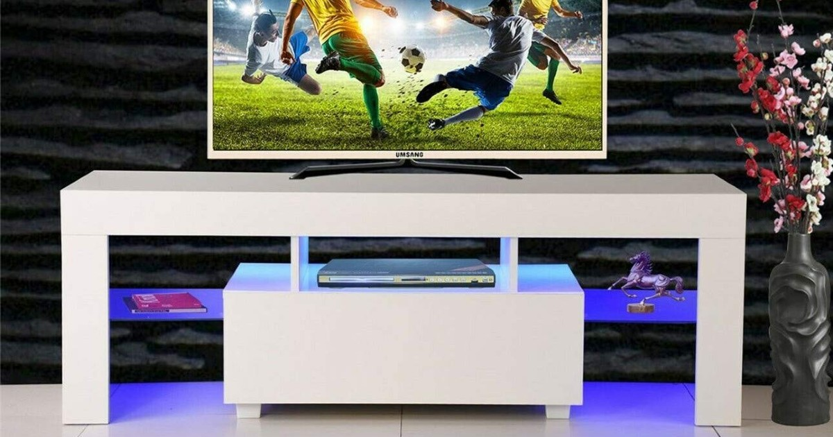 TV Stand Media Console Cabinet
