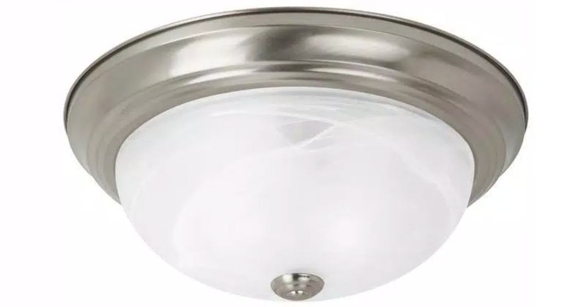 Windgate 1 Light Mount with LED Bulb at Home Depot ONLY $6.36 (Reg $38)