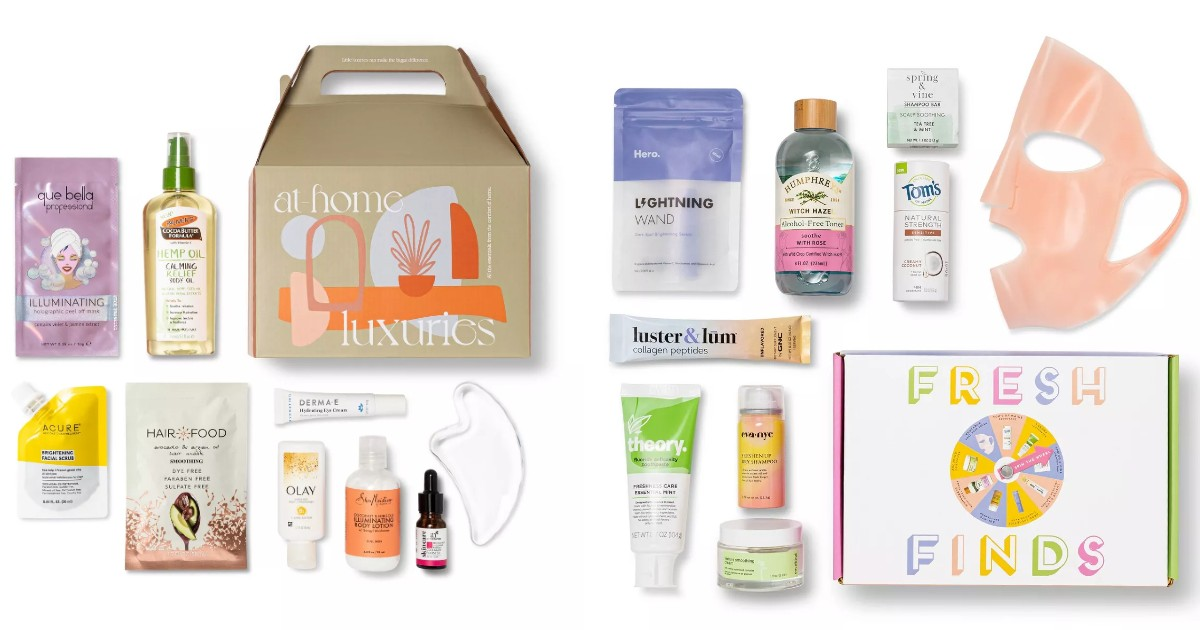 New 9-PieceBeauty Boxes ONLY $14.99 at Target