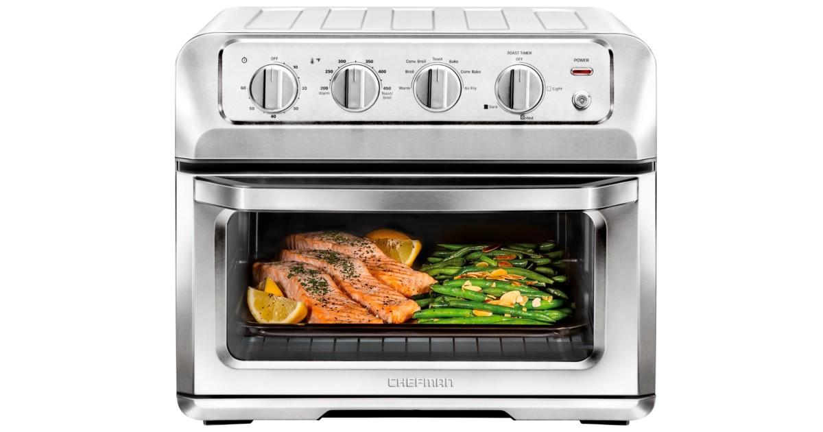 CHEFMAN Convection Toaster Oven + Air Fryer
