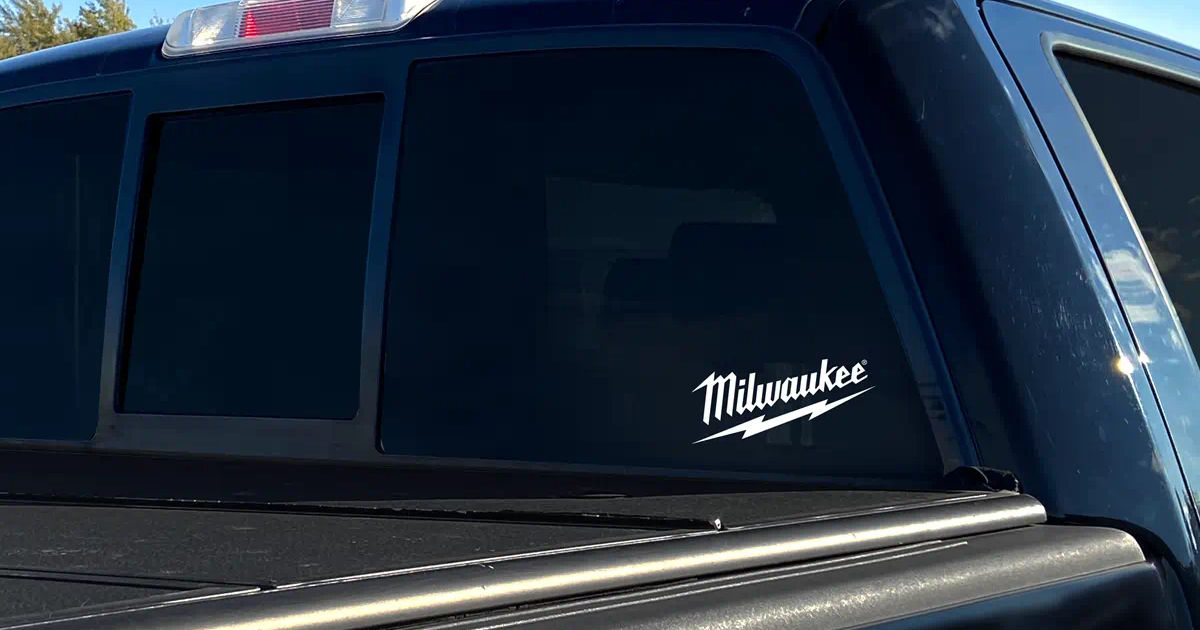 FREE Milwaukee Die Cut Decal