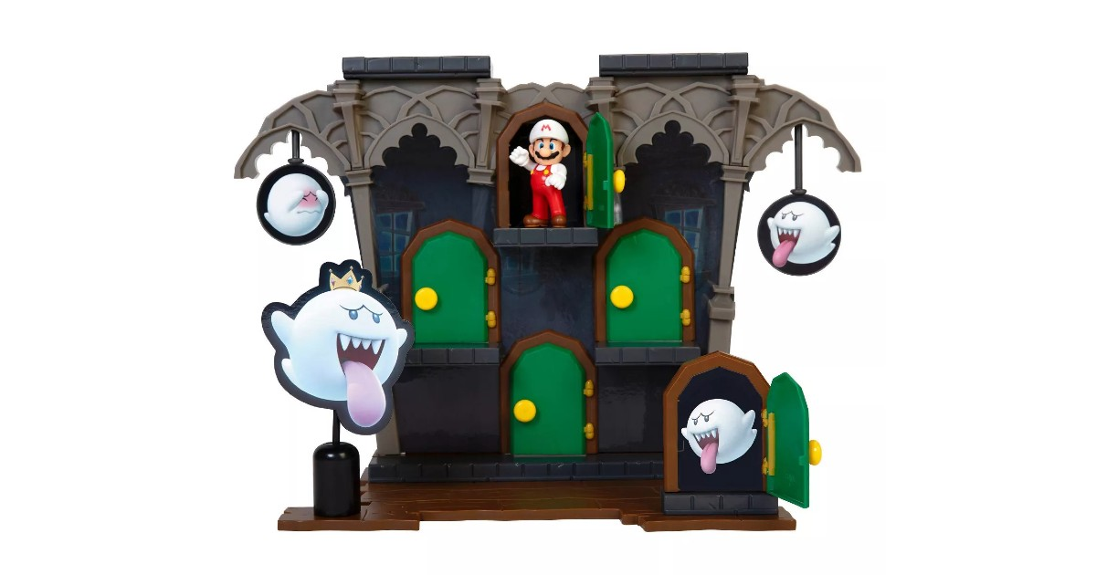 Nintendo Deluxe Boo Mansion Playset ONLY $14.99 (Reg. $30)