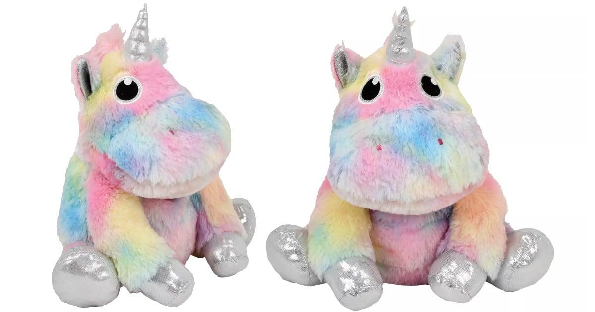 2 Scoops Plush Tie Dye Unicorn