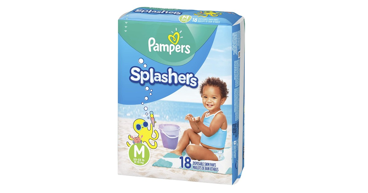 Pampers Splashers on Amazon