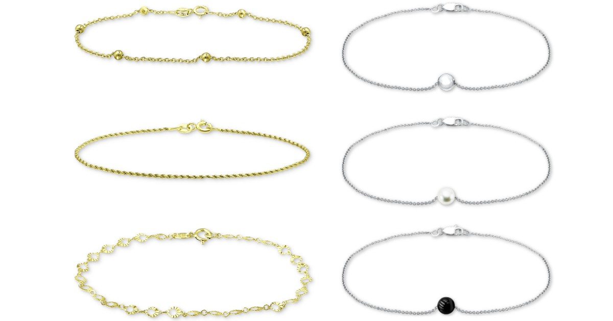 3-Piece Set Chain Link Bracelets