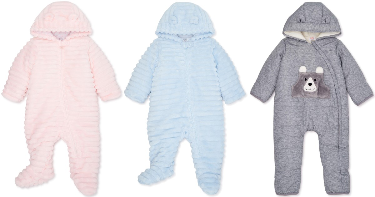Baby Plush Snowsuit
