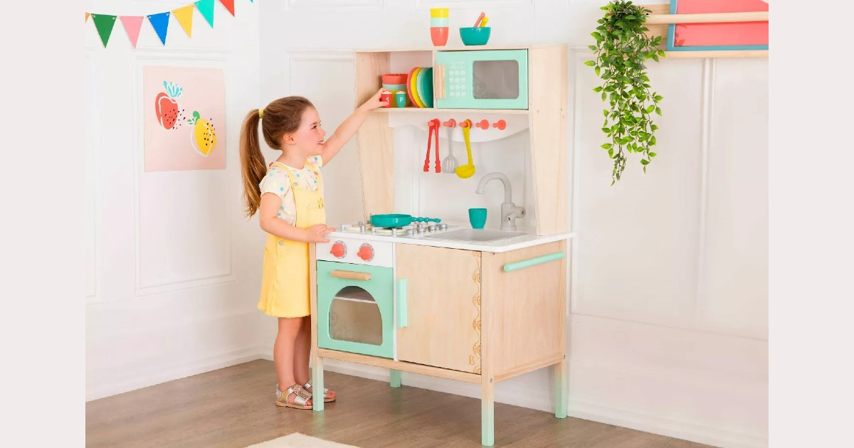 B. Toys Wooden Play Kitchenette at Target