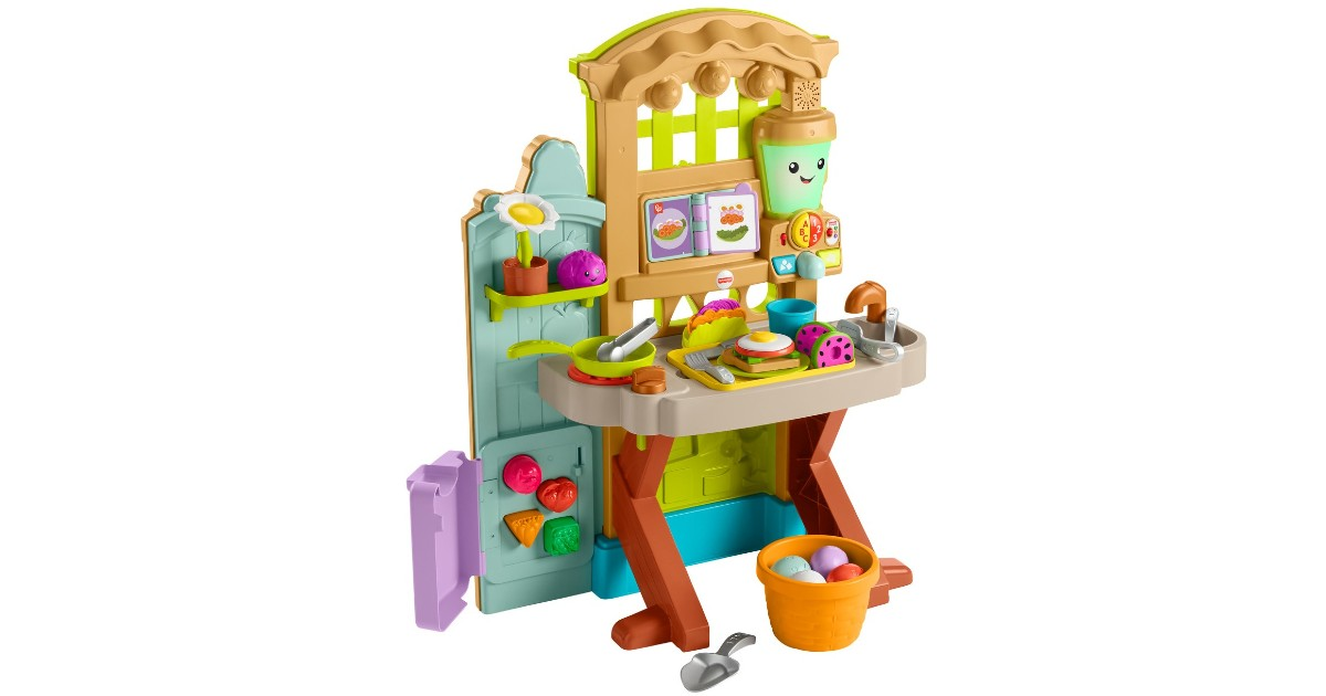 Fisher-Price Laugh & Learn Play Kitchen