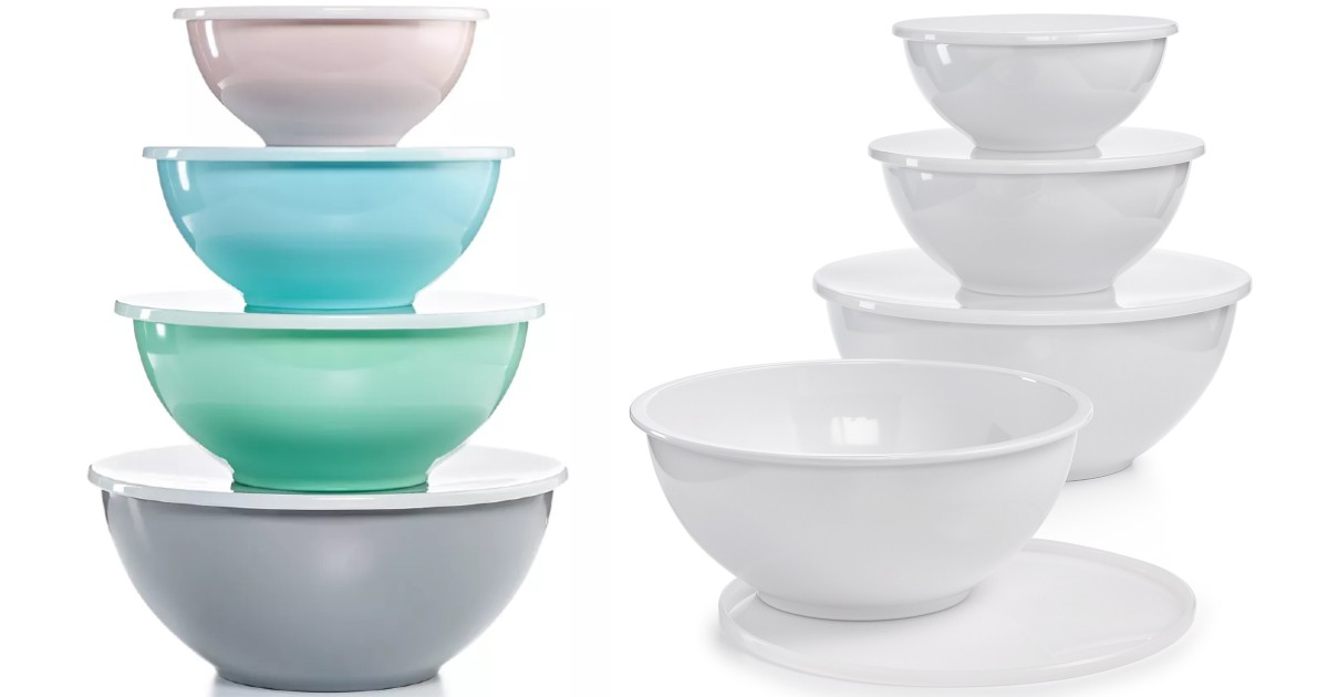 Martha Stewart 8-Piece Bowl Set w/ Lids