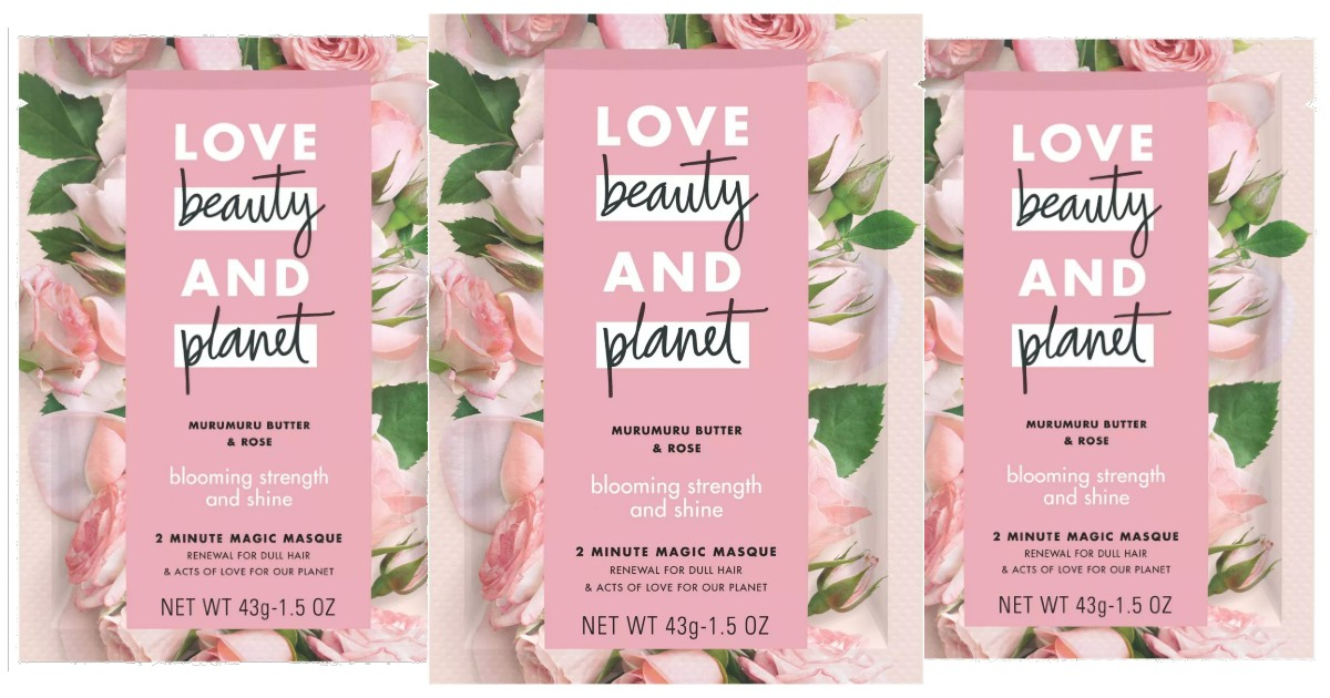 Love Beauty & Planet Hair Mask at Target