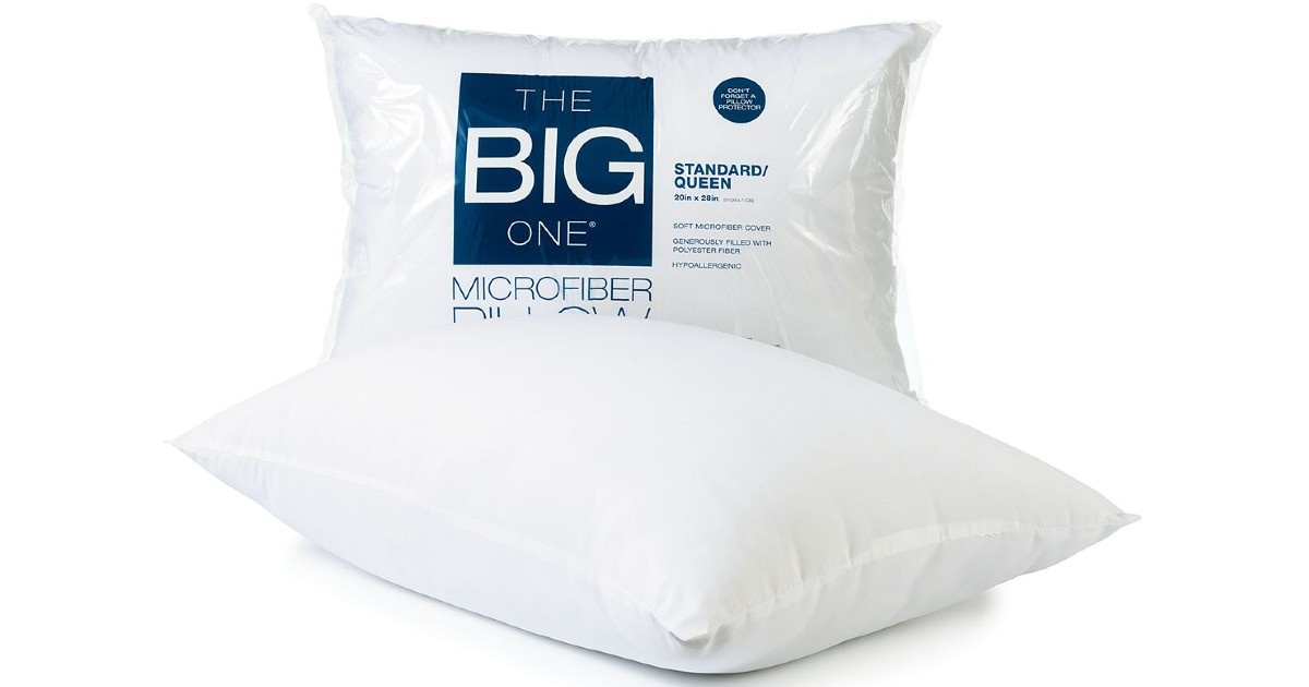 The Big One Microfiber Standard Pillow