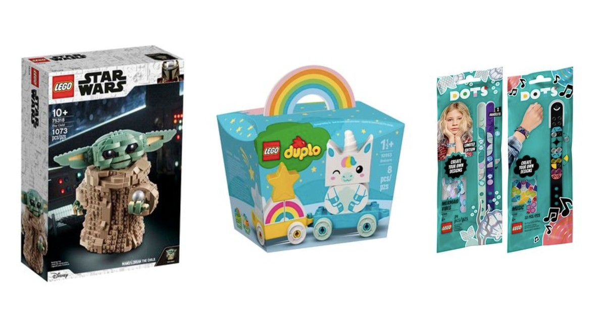 Lego Sale up to 50% Off + Extra 15% Off