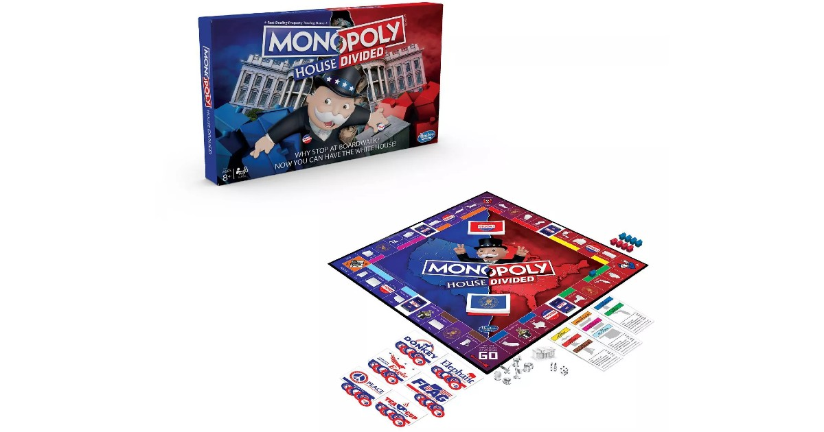Monopoly House Divided Board Game at Target