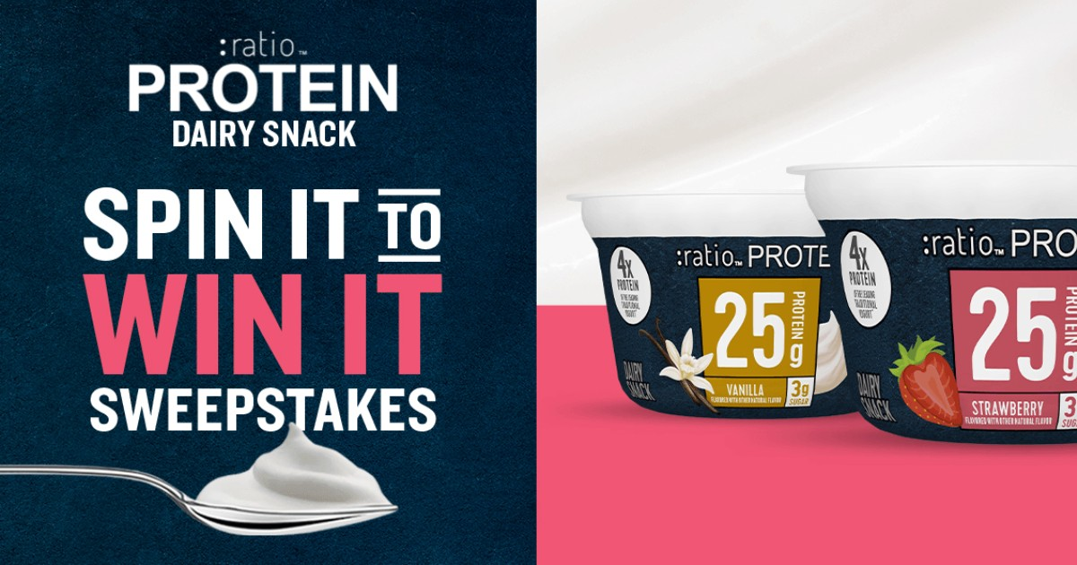 Ratio Protein Dairy Snack