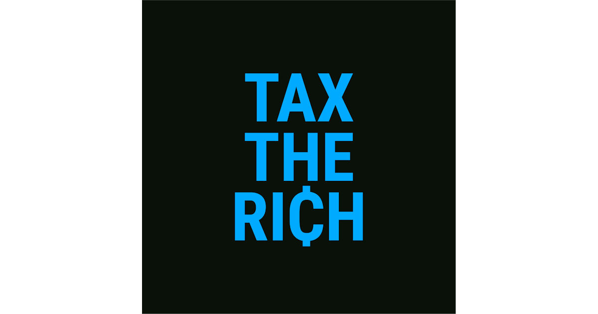 FREE Tax the Rich Sticker