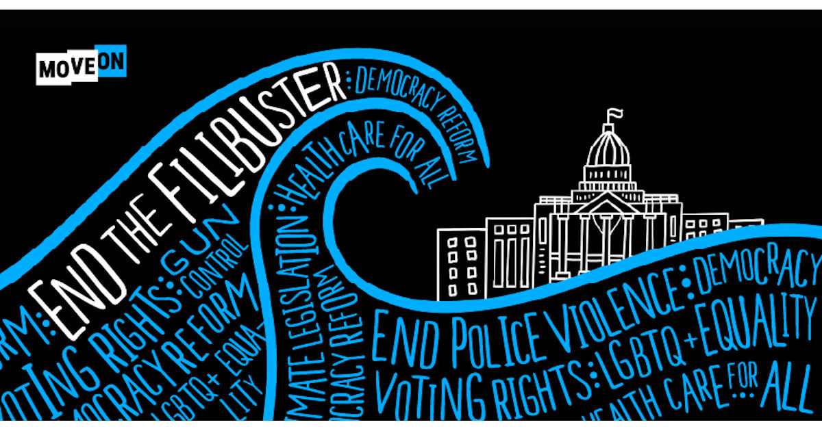 FREE End the Filibuster Sticker