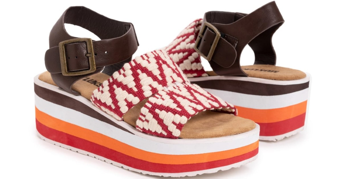 MUK LUKS Groove Music Sandals