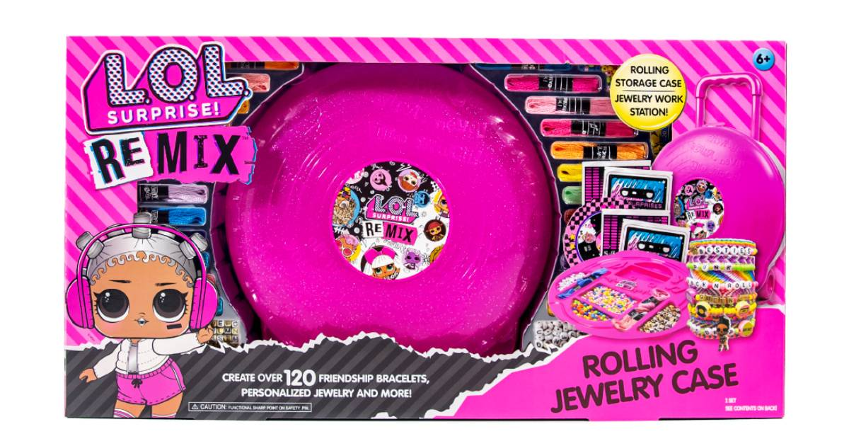 LOL Surprise! REMIX Rolling Jewelry Case ONLY $10.88 (Reg. $20)