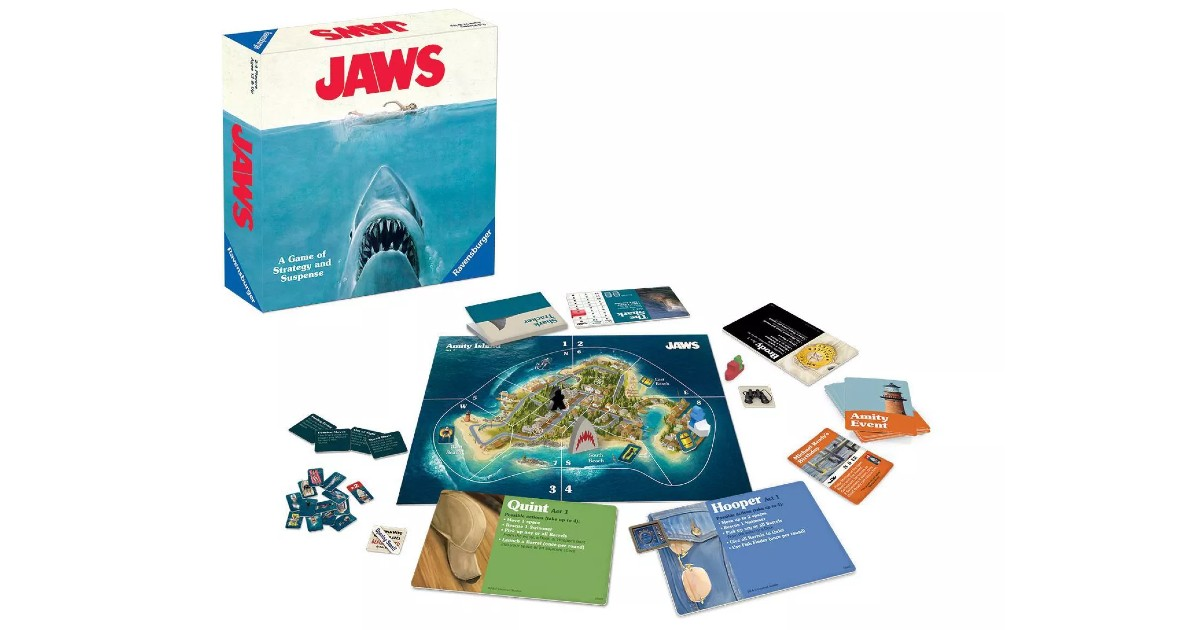 Jaws Family Board Game on Sale for $8.44 (reg $16.89)