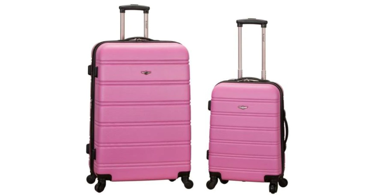 Rockland 2 Piece Luggage Set from Home Depot ONLY $85 (Reg $340)