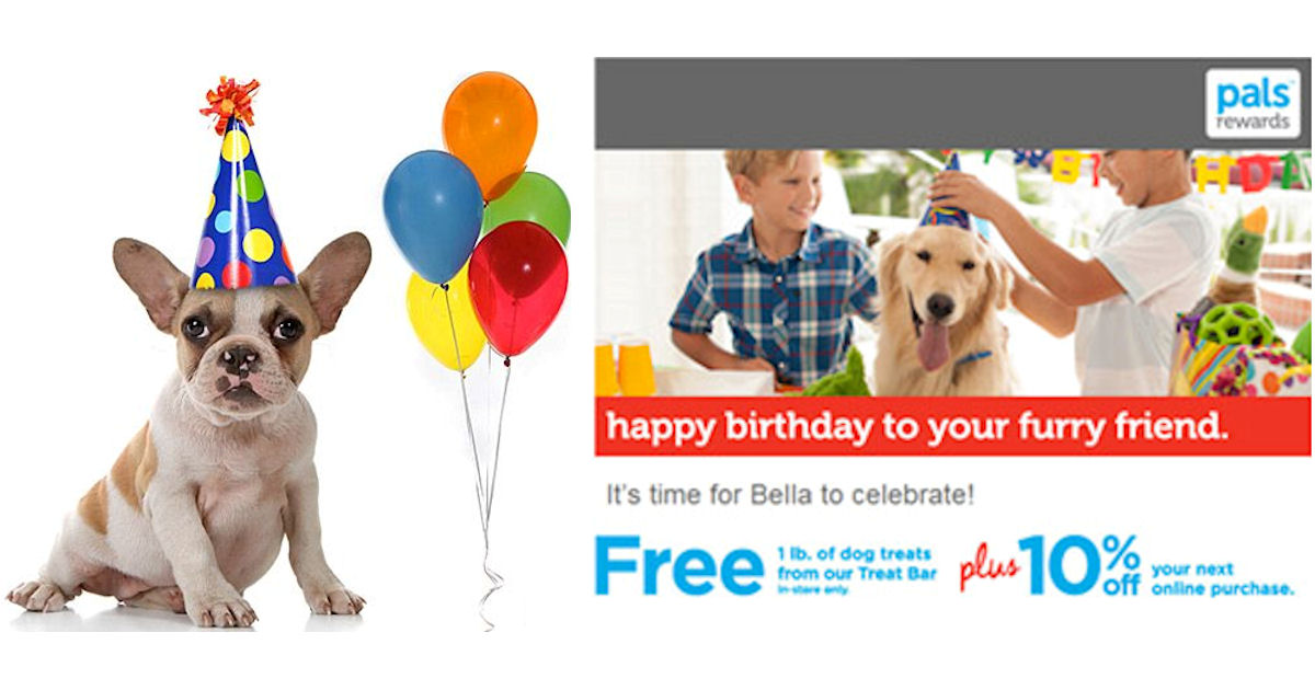 FREE Pound of Dog Treats at Petco