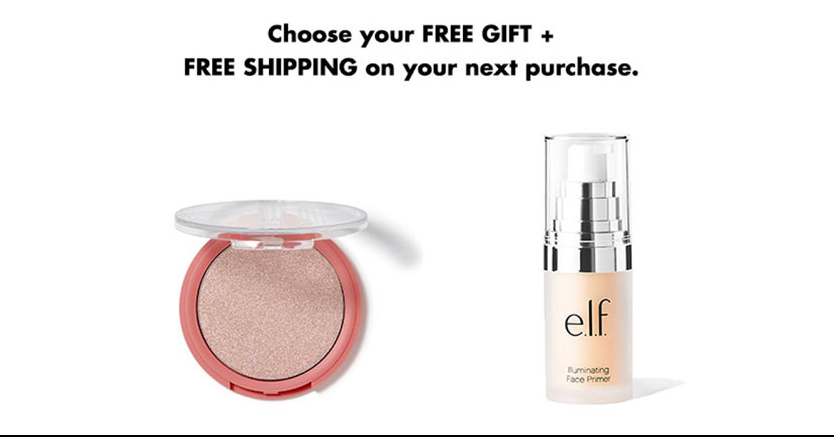 FREE e.l.f. Makeup on your Bir...
