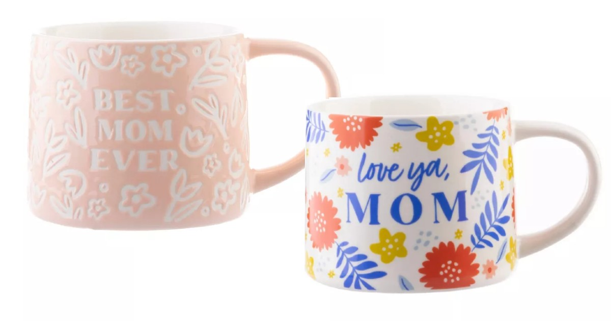 Mom Coffee Mugs & Tea Cups ONLY $5.00at Target