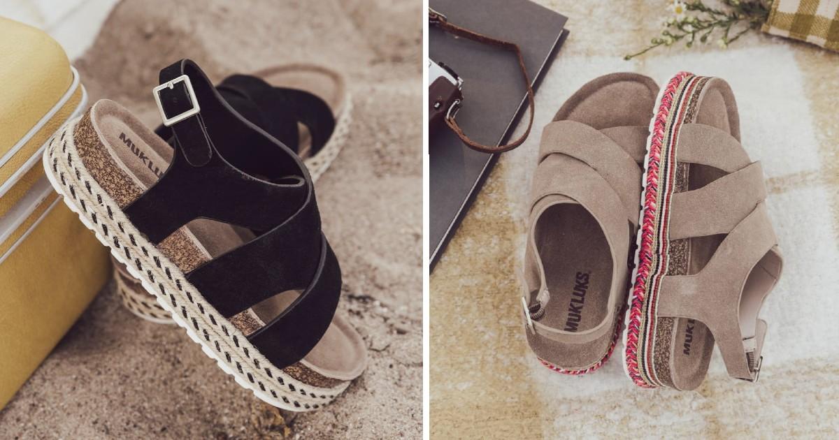 MUK LUKS Beach Bingo Sandal