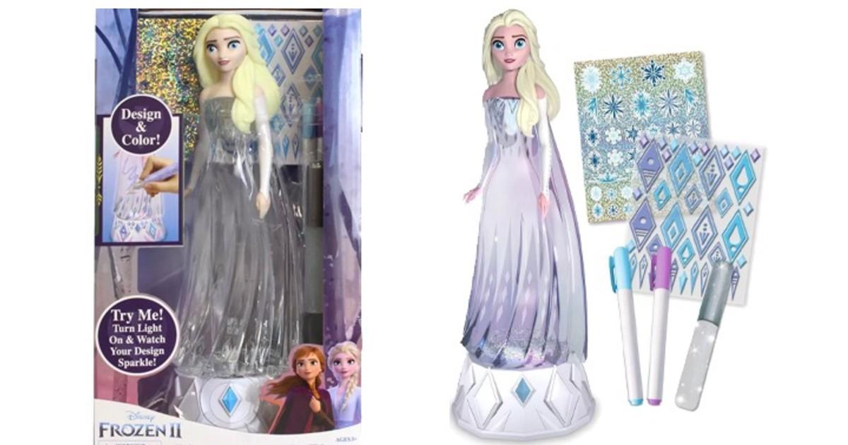 Disney Frozen Sparkle Elsa Doll