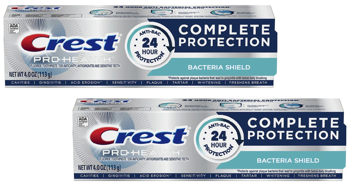 FREE Crest Toothpaste at Walgreens