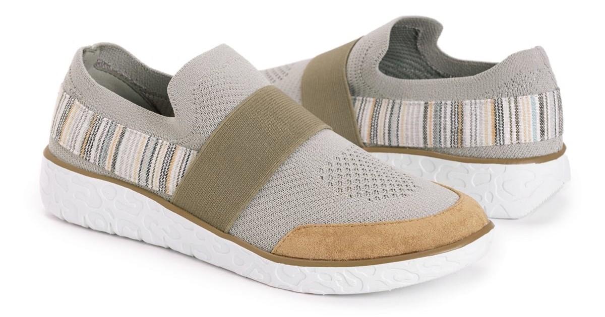 MUK LUKS Women's Boardwalk Power Walk Sneaker $29.99 (Reg. $55)