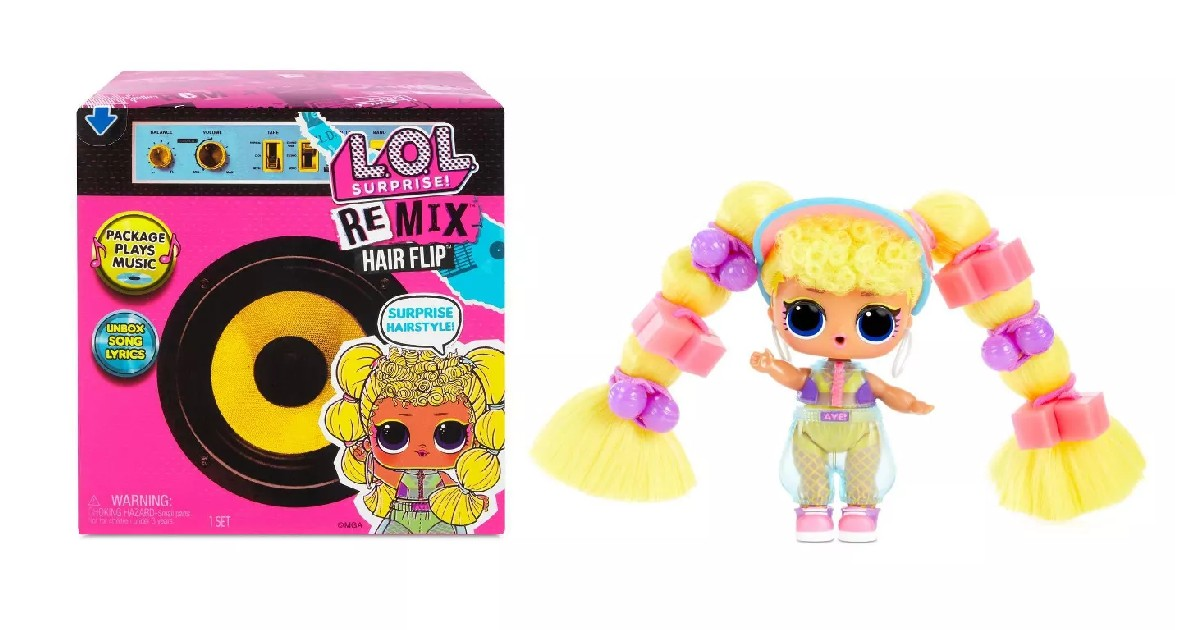 LOL Surprise Remix Hair Flip Dolls ONLY $6 (Reg $16)