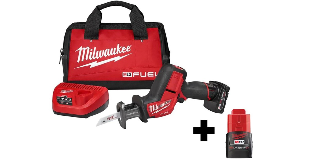 Milwaukee Saw Kit