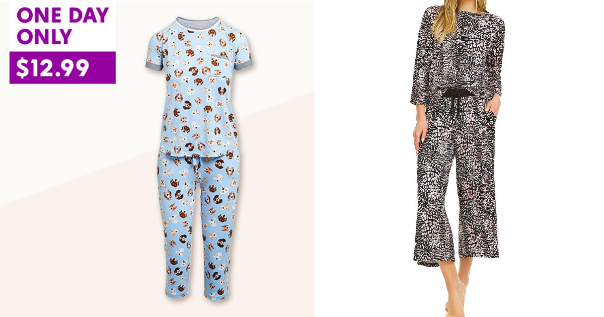 2-Piece PJ Sets on Zulily