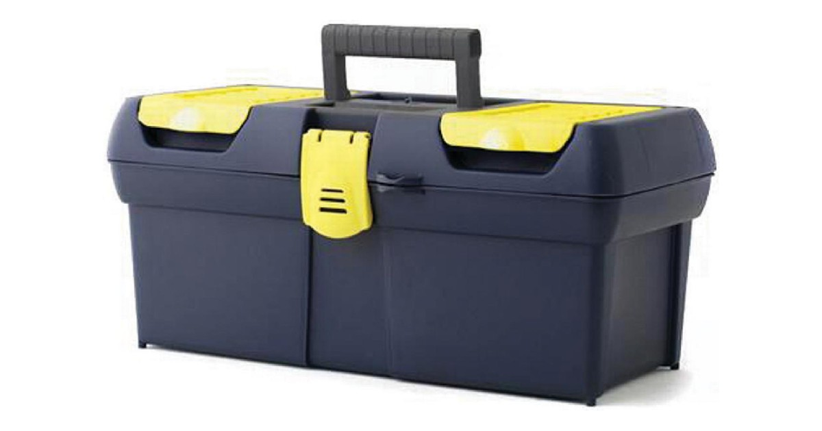 Stanley One Latch 16 Inch Toolbox ONLY $9.00 (Reg $19)